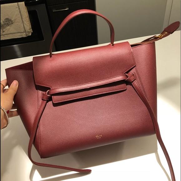 e977d4830b Celine Handbags - Celine MINI BELT BAG CALFSKIN 💯 authentic